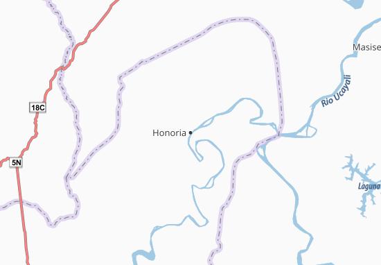 Honoria Map
