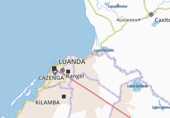 Kaart Plattegrond Cacuaco