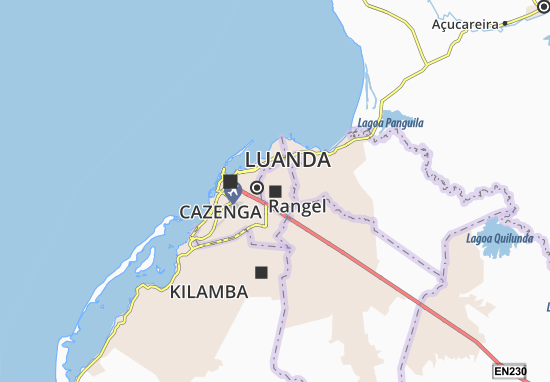 Cazenga Map