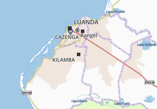 Kaart Plattegrond Kilamba