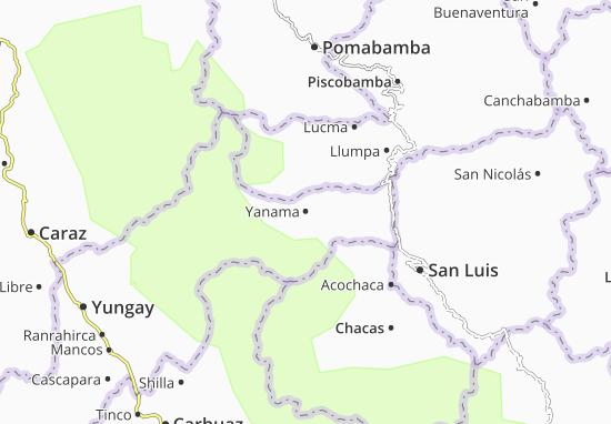 Yanama Map