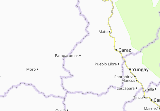 Carte-Plan Pamparomas
