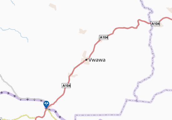 Mapa Plano Vwawa