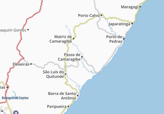 Mappe-Piantine Passo de Camaragibe