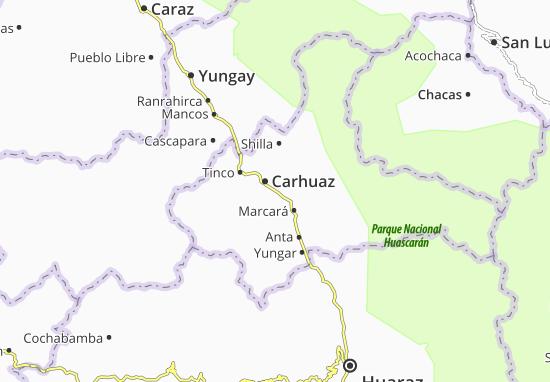Kaart Plattegrond Acopampa