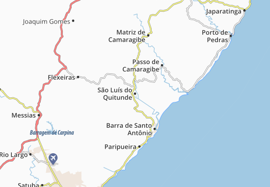 Mappe-Piantine São Luís do Quitunde