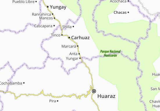 Yungar Map