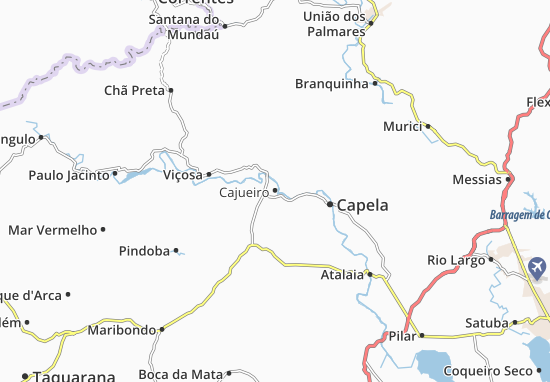 Cajueiro Map
