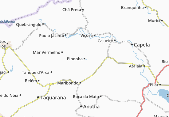Carte-Plan Pindoba