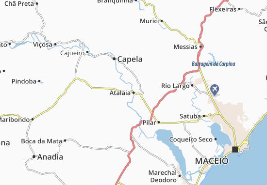 Atalaia Map