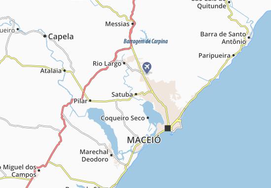 Satuba Map