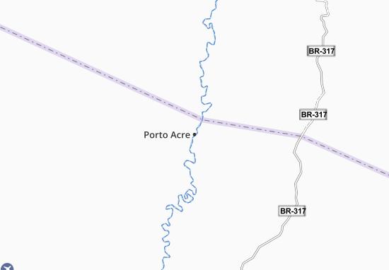 Carte-Plan Porto Acre