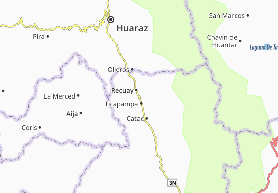 Ticapampa Map