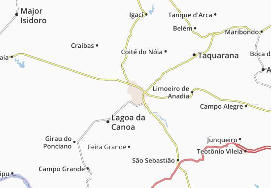 Arapiraca Map