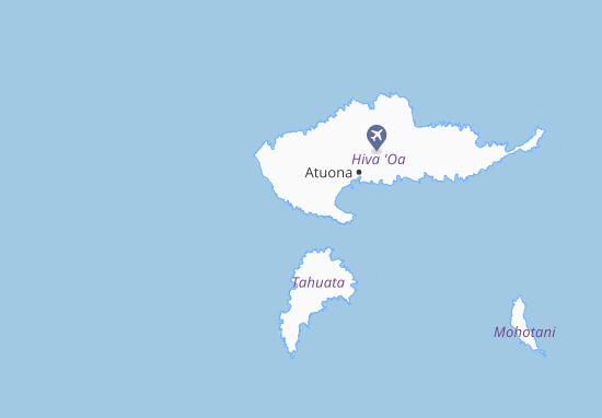 Hanaoo Map