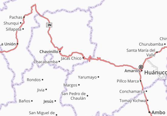 Jacas Chico Map