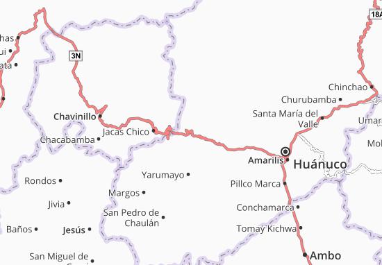 Kaart Plattegrond Quisqui