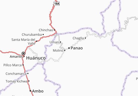 Carte-Plan Panao