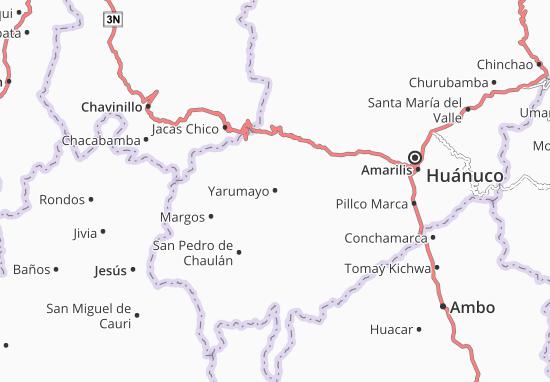 Yarumayo Map