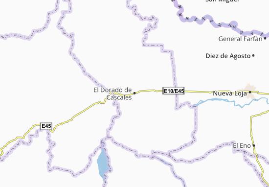El Dorado de Cascales Map