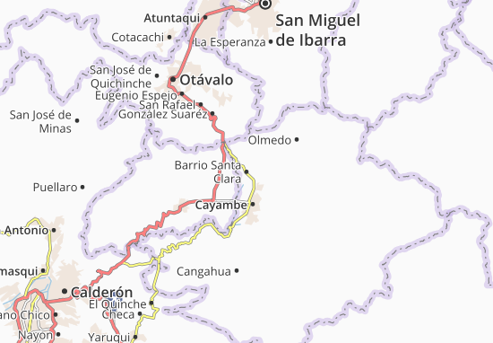Barrio Santa Clara Map