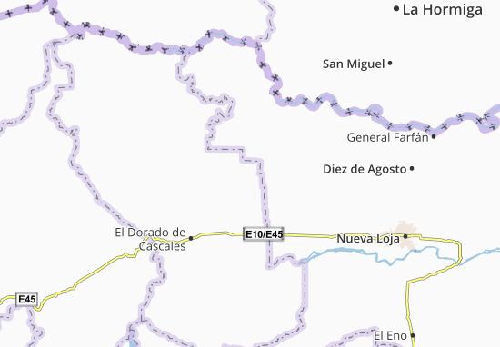 Santa Rosa de Sucumbios Map