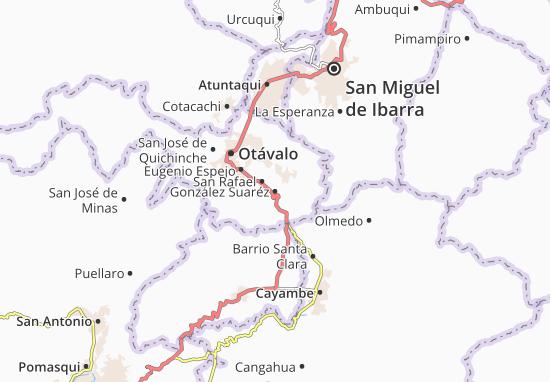 Carte-Plan González Suaréz