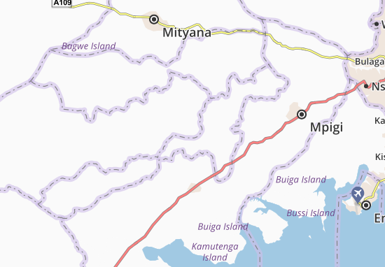 Mapa Plano Gomba