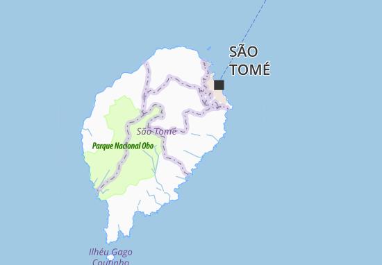 Carte-Plan Ponta das Palmeiras