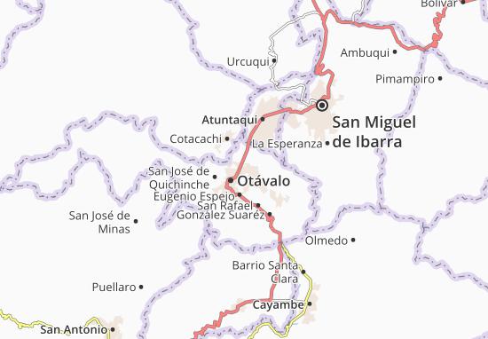 Doctor Miguel Egas Cabezas Map