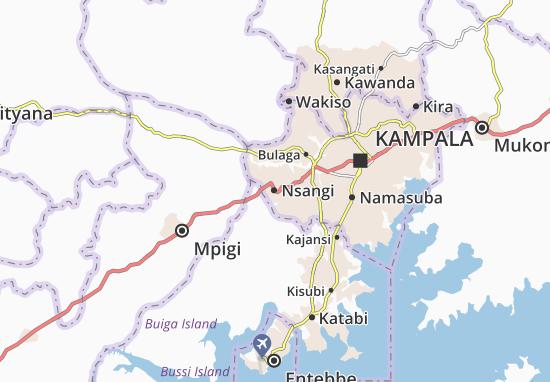 Mapa Plano Nsangi