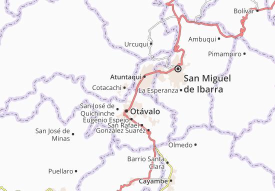 San Juan de Ilumán Map