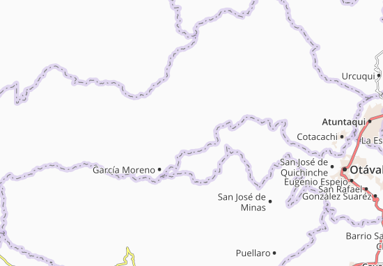 Vacas Galindo Map