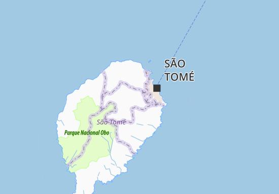 Carte-Plan Àgua Crioula