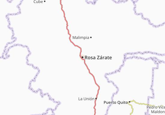 Mappe-Piantine Rosa Zárate