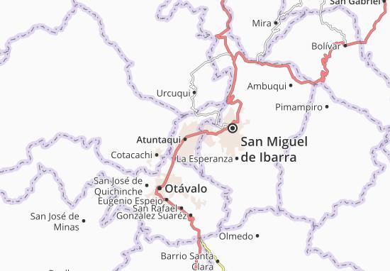 Mappe-Piantine San Francisco de Natabuela