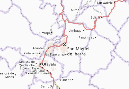 San Miguel de Ibarra Map