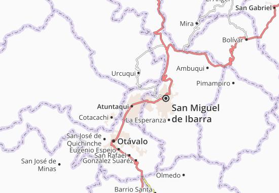 San José de Chaltura Map