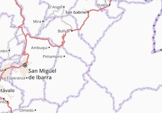Monte Olivo Map