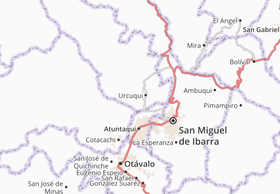 San Blas Map