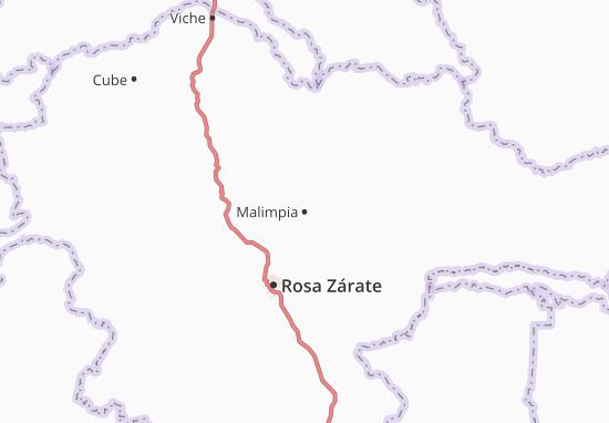 Karte Stadtplan Malimpia