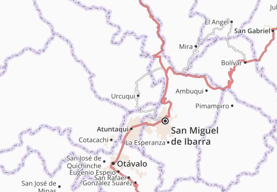 Urcuqui Map