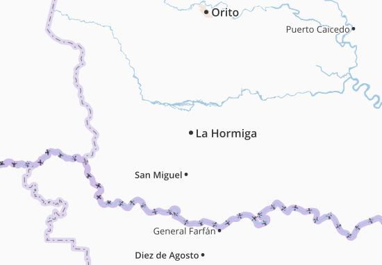 La Hormiga Map