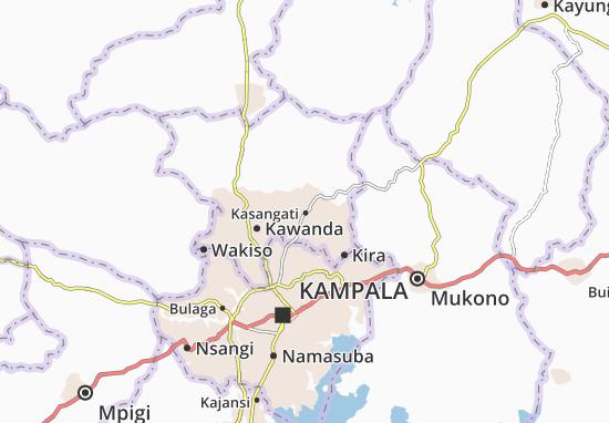 Mapa Plano Kasangati