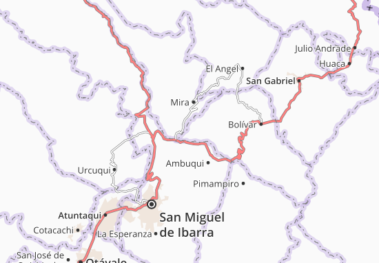 Mapas-Planos San Vicente de Pusir