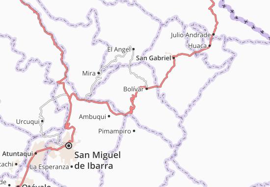 Los Andes Map