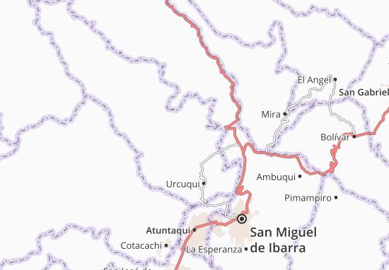 Cahuasqui Map