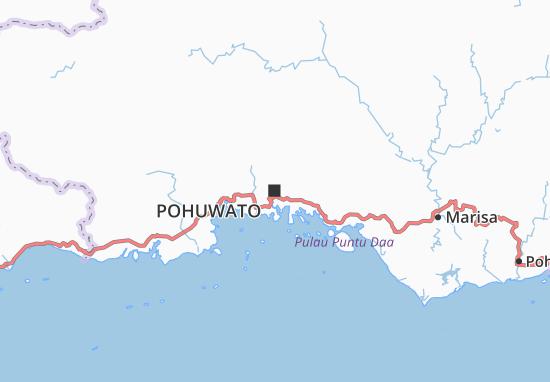 Pohuwato Map