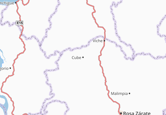 Karte Stadtplan Cube