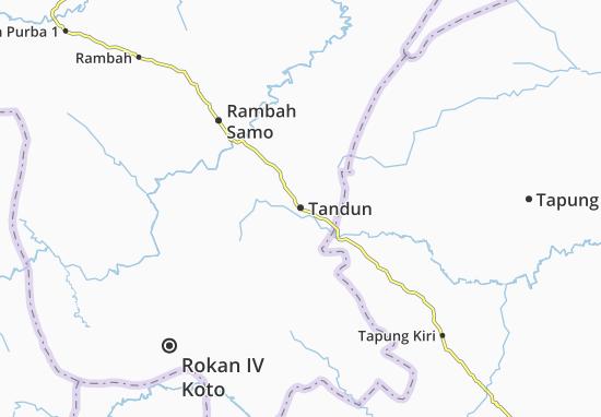 Mapas-Planos Tandun